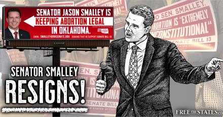 Free the States Statement on Sen. Jason Smalley's Resignation