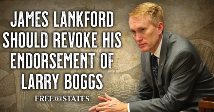 James Lankford Should Revoke His Endorsement of Larry Boggs
