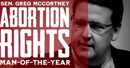 Greg McCortney: Abortion Rights Man of the Year