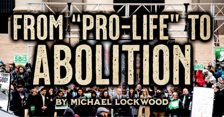 My Pro-Life-to-Abolitionist Conversion