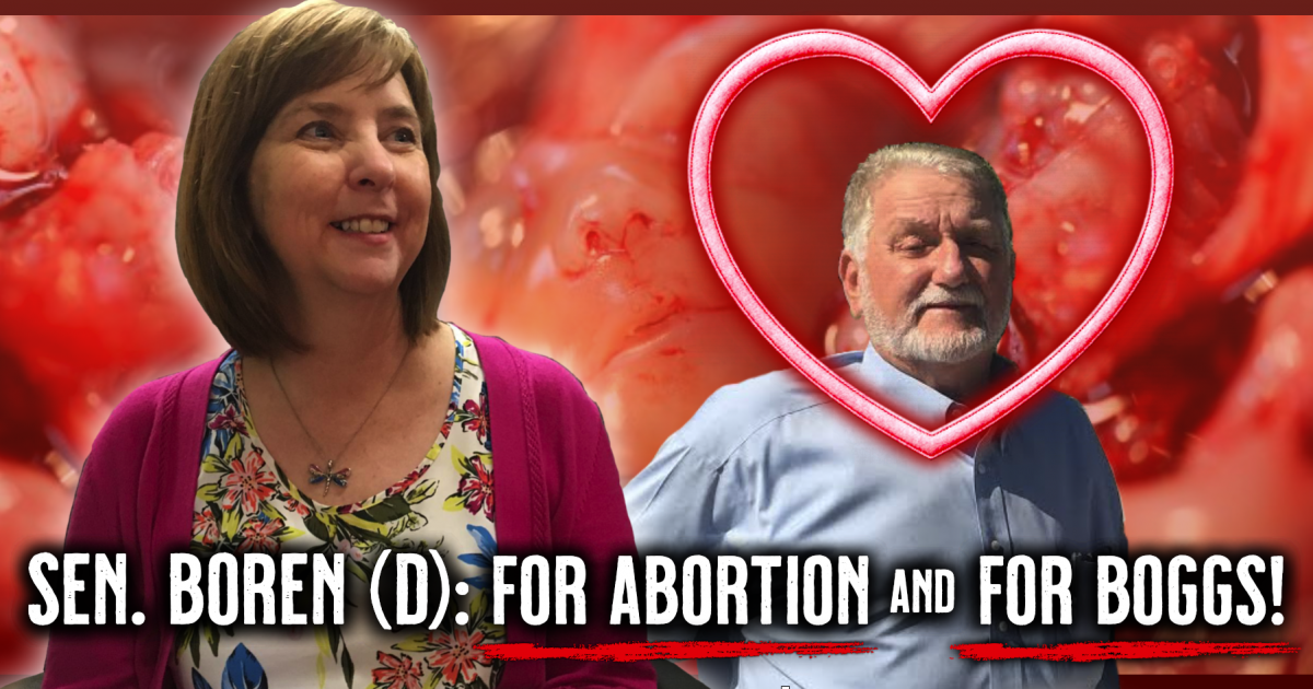 Senator Larry Boggs Supported by Pro-Abortion Democrat Sen. Mary Boren