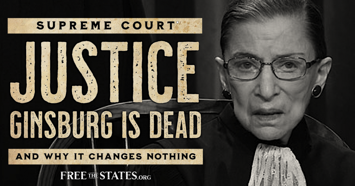 Ruth Bader Ginsburg Passes Away at 87