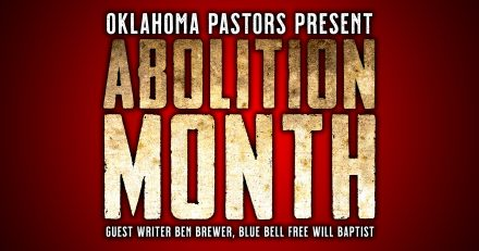 Pastor Ben Brewer to Churches: Join us for Abolition Month!