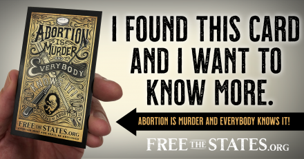 Abortion is Murder and Everybody Knows it