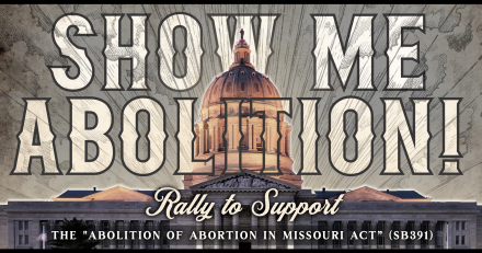 Rally to SHOW ME Abolition in Missouri on March 10