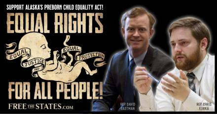 State Rep. Chris Kurka to File Bill to Immediately Abolish Abortion in Alaska