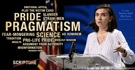 Refuting Dana Hall McCain's Nonsensical Anti-Abolitionist Slander