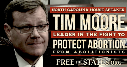NC House Speaker Tim Moore Pulls Tricks to Avoid Going on Record Against Abolition